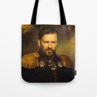 Ricky Gervais - Replacef… Tote Bag
