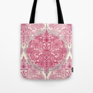 Happy Place Doodle In Be… Tote Bag
