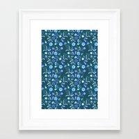 Floral Morning Framed Art Print