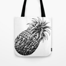 Ornate Pineapple Tote Bag
