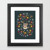 Ornaments Framed Art Print
