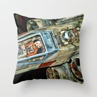 X-Wing Fighter Throw Pillow