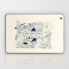 Oregon Map Laptop & iPad Skin