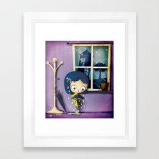 It's Coraline not Caroline. Framed Art Print