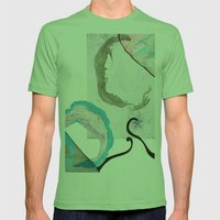 MRBL Mens Fitted Tee Grass SMALL
