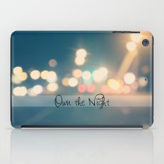 Own the Night iPad Case