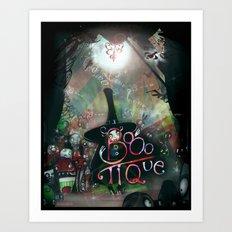 BOOO-tique! Art Print