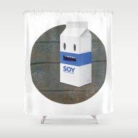 Soy Milk Shower Curtain