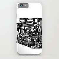 iPhone & iPod Case featuring Typographic Arizona by CAPow!