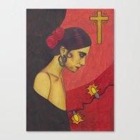 Surfer Rosa (Luxemburg) Canvas Print