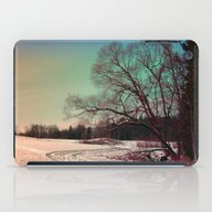 A Snowy Trail And Some T… iPad Case