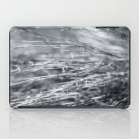 Fire Grass In Black And … iPad Case