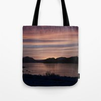 Frozen Sunset 4 - Pale Light Tote Bag