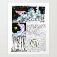 Nephocetacea Art Print