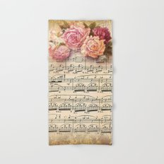Vintage Music #2 Hand & Bath Towel