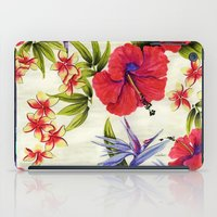 Paradise Party iPad Case