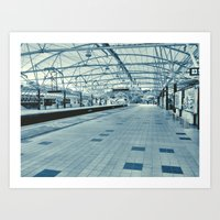 LRT Station  Art Print
