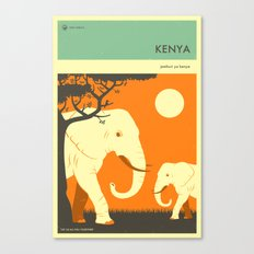 VISIT KENYA Canvas Print