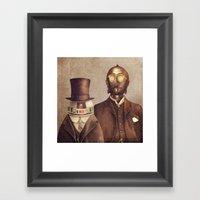 Duke R2 And Baron Von Th… Framed Art Print
