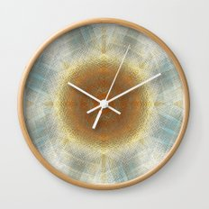 Trendy digital mandala Wall Clock