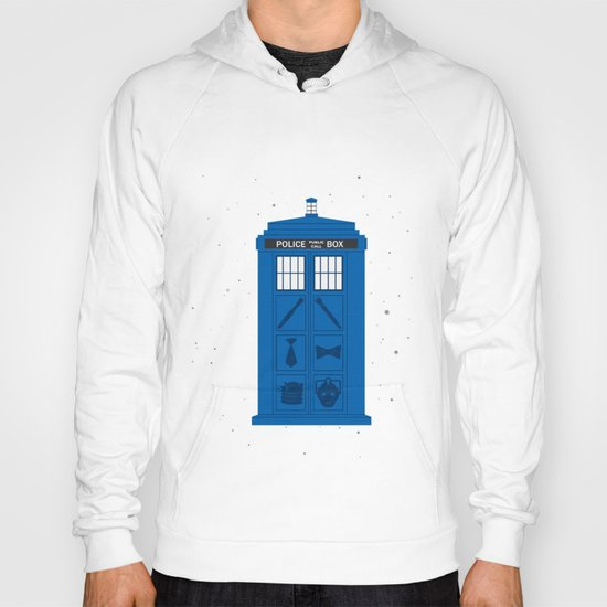 The Tardis Got Some Ink Hoody