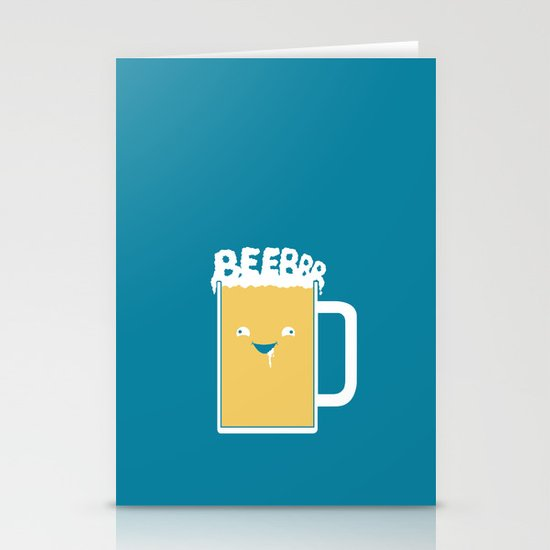Beerrr Stationery Card