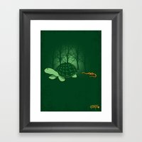 Be Proud Of Who You Are … Framed Art Print