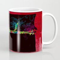 Graphic Guitar Mug