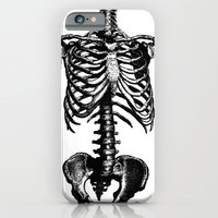 skeleton iPhone & iPod Cases featuring Skeleton by Cloz000
