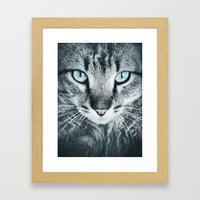 Blue Velvet Framed Art Print