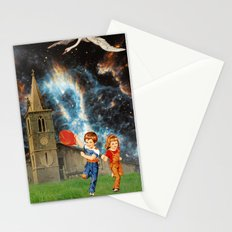 Space Balloon Stationery Cards