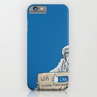 Will like your Facebook page for € iPhone 6 Slim Case