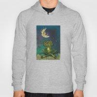 Frog And Stinky Moon Hoody