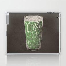 St. Patricks Variation - Yeast is a Fungi Laptop & iPad Skin