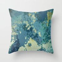 Vintage Surface Throw Pillow