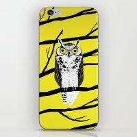 Great Owl iPhone & iPod Skin