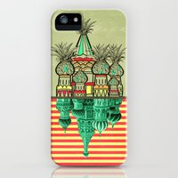 iPhone 5s & iPhone 5 Cases featuring Pineapple architecture  by AmDuf