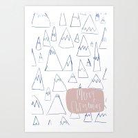 Merry Christmas 01 Art Print