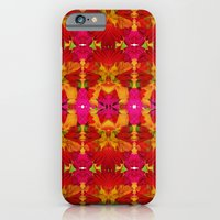 Like flowers and butterflies iPhone 6 Slim Case