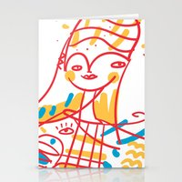Hang on, Baby Stationery Cards