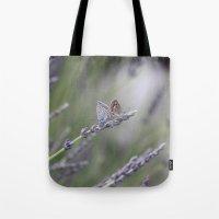 Lavender Butterflies - J… Tote Bag