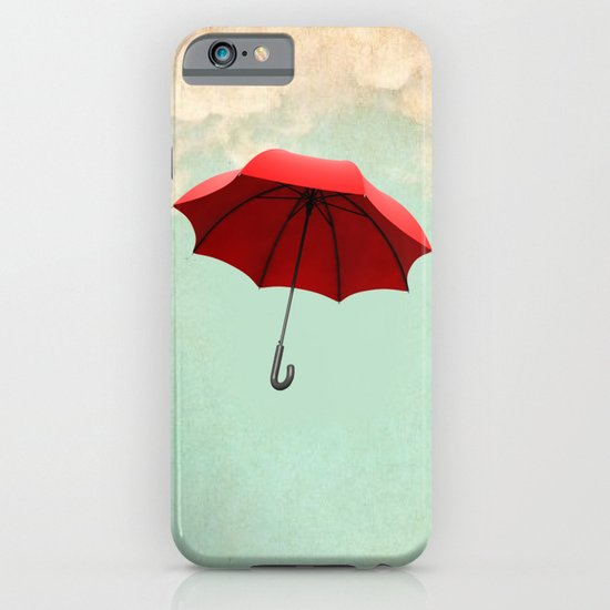 Red Umbrella iPhone & iPod Case