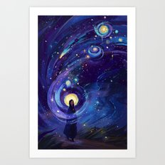 Of the Stars Art Print