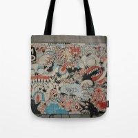 Urban art Tote Bag