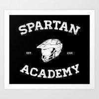 Spartan Academy Art Print