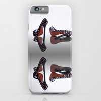 iPhone Cases featuring Shoes, Glorious Shoes by Fran Walding