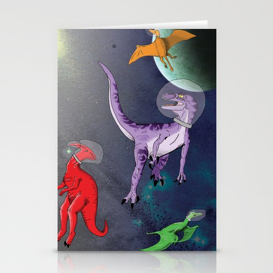 Extinction: The Final Frontier Stationery Card