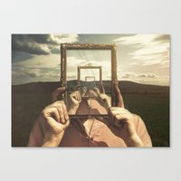 Empty Frame Canvas Print