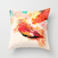 One Little Indian Throw Pillow