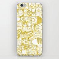 Golden Doodle Squares iPhone & iPod Skin